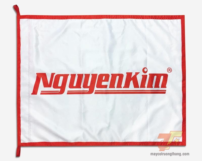 Cờ công ty - Trung tâm mua sắm Nguyễn Kim