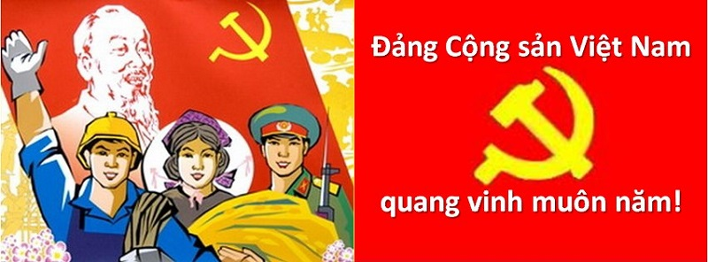 Tôn vinh lá cờ Đảng