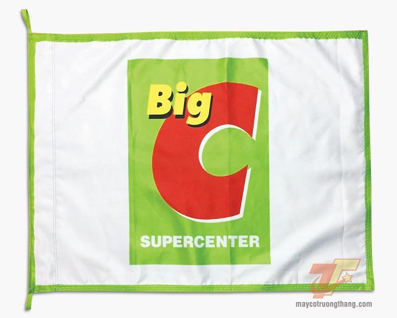 Cờ công ty - Hệ thống siêu thị Big C